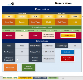 Manage Reservations