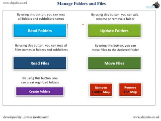 Organize Files and Folders by Excel - cover
