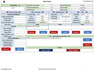 Stock Portfolio Management Cover